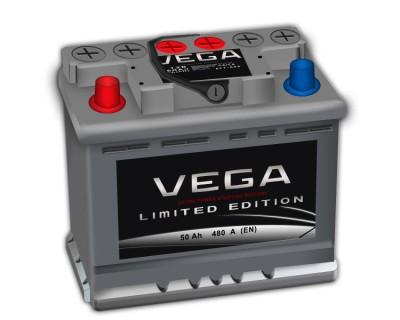 Vega 50Ah-480Aen  h-175 L+ - фото 1