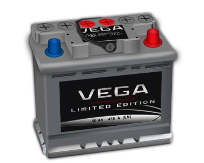 Vega 50Ah-480Aen h-175 R+ - фото 1