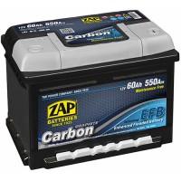 ZAP Start-Stop EFB Graphite Carbon 6 CT-60Ah (h-175)