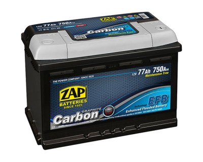ZAP Start-Stop EFB Graphite Carbon 6 CT-77Ah - фото 1