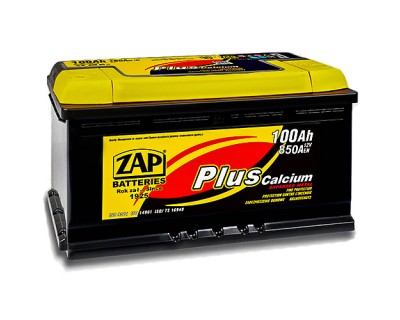 ZAP Plus 6 CT-100Ah-850Aen (0) L+ - фото 1