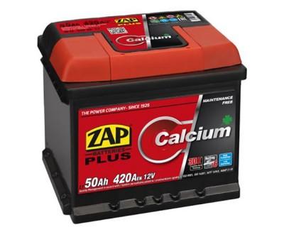 ZAP Plus 6 CT-50Ah-420Aen (0) R+ (h-175) - фото 1