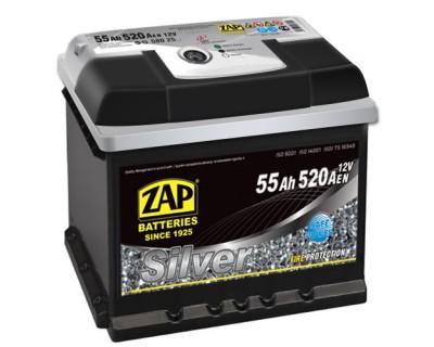 ZAP Silver 6 CT-55Ah-520Aen (1) L+ - фото 1