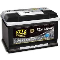 ZAP Silver 6 CT-75Ah-740Aen (0) R+ (h-175)