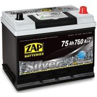 ZAP Silver 80D26L 6 CT-75Ah-750Aen (0) R+ ASIA