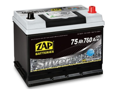 ZAP Silver 80D26L 6 CT-75Ah-750Aen (0) R+ ASIA - фото 1