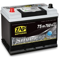 ZAP Silver 80D26R 6 CT-75Ah-750Aen (1) L+ ASIA