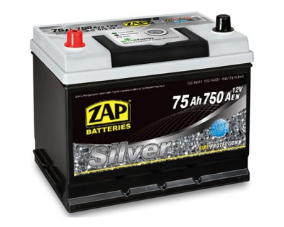ZAP Silver 80D26R 6 CT-75Ah-750Aen (1) L+ ASIA - фото 1