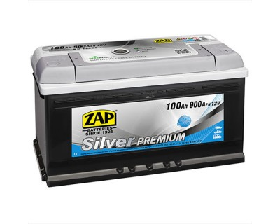 ZAP Silver Premium 6 CT-100Ah-900Aen (0) R+ - фото 1