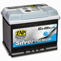 ZAP Silver Premium 6 CT-62Ah-620Aen (0) R+