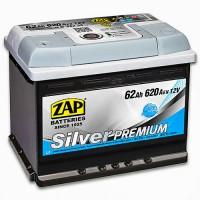 ZAP Silver Premium 6 CT-62Ah-620Aen (1) L+