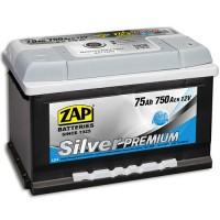 ZAP Silver Premium 6 CT-75Ah-750Aen (0) R+ (h-175)