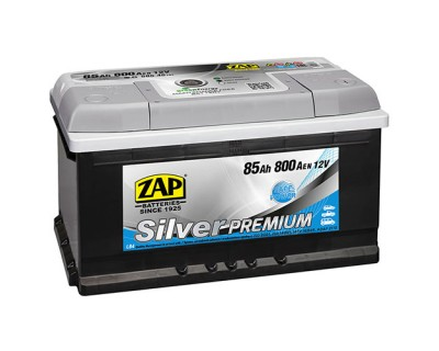ZAP Silver Premium 6 CT-85Ah-800Aen (0) R+ (h-175) - фото 1